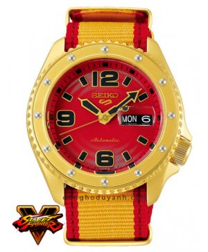 Đồng hồ Seiko 5 Sports ZANGIEF - Iron Cyclone SRPF24K1