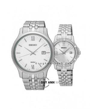 Đồng hồ đôi Seiko SUR217P1 và SUR741P1