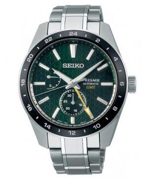 Seiko Presage Sharp Edged GMT SPB219J1