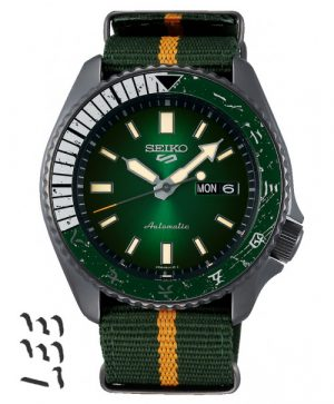 Seiko 5 Sports ROCK LEE Limited Edition SRPF73K1S